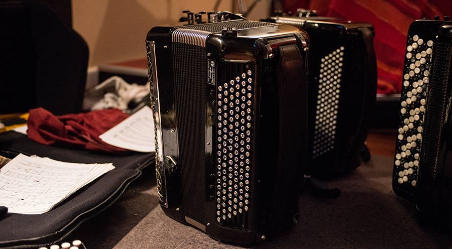 Cours d'accordéon et solfège sur partition