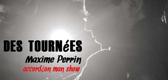 Maxime Perrin, projet musique accordéon solo