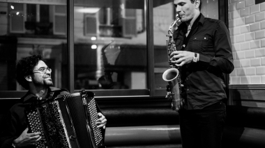 Anamorphoses : groupe duo jazz accordéon saxophone