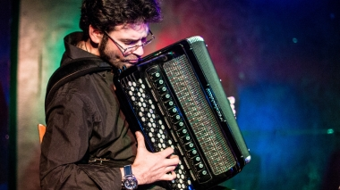 Maxime Perrin accordeon jazz: sur scène à Strasbourg