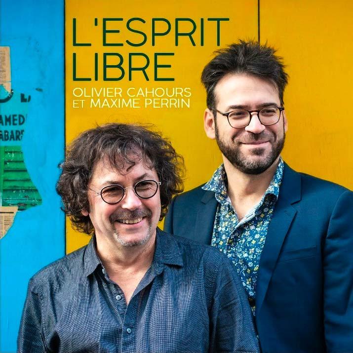 Album Maxime Perrin OLivier Cahours - L'esprit Libre