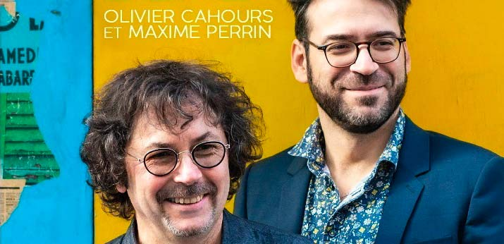 Projet Maxime Perrin Olivier Cahours - Guitare Accordéon